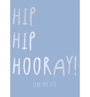 CO/Hip Hip Hooray