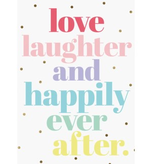 WD/Love Laughter Happily Ever