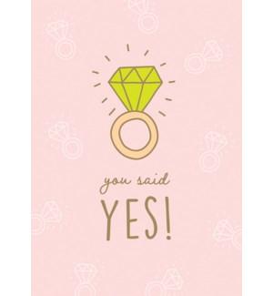 ENG/You Said Yes