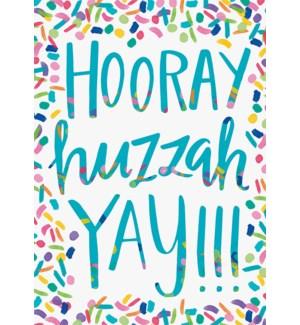 CO/Hooray Huzzah Yay