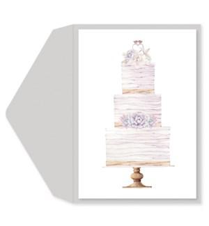 WD/Pearlized Wedding Cake