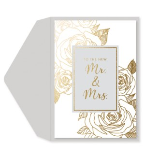 WD/To The New Mr. & Mrs.