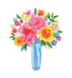 BD/Painted Floral Bouquet