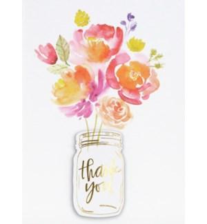 TYB/Floral Jar