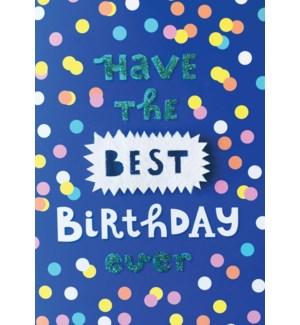 BD/Best Birthday Ever