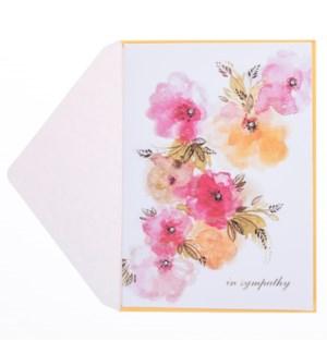 SY/Orange Pink Floral