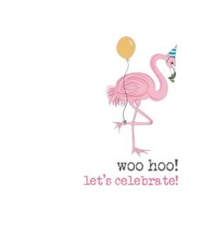 BD/Woo Hoo Flamingo