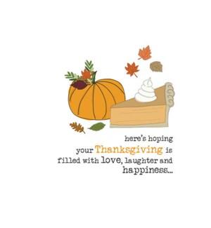 TG/Pumpkin Pie