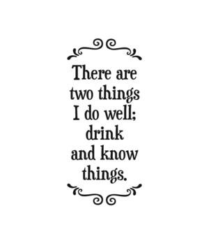TOWEL/I do well