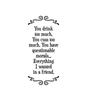 TOWEL/A friend