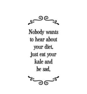 TOWEL/Sad diet