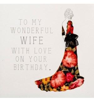 RBD/To My Wonderful Wife