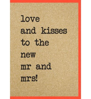 WDB/To The New Mr & Mrs