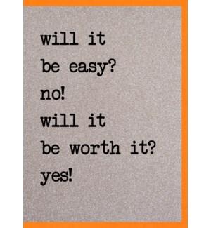 EDB/Will It Be Worth It? Yes