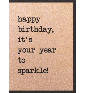 BDB/It's Your Year To Sparkle