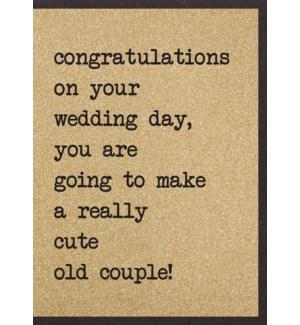 WDB/Congrats Cute Old Couple!