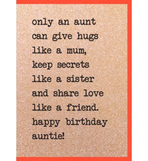 RBDB/Only Aunt can Give Hugs