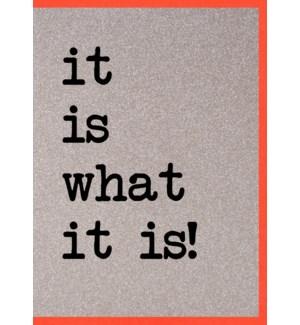 EDB/It Is What It Is