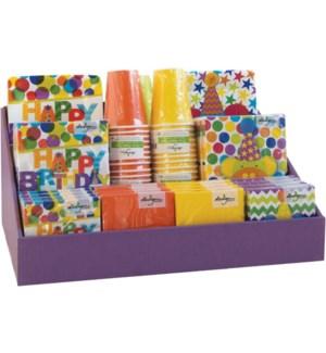 DISP/Purple Counter Corrugate