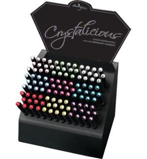DISP/Crystalicious Black Pens