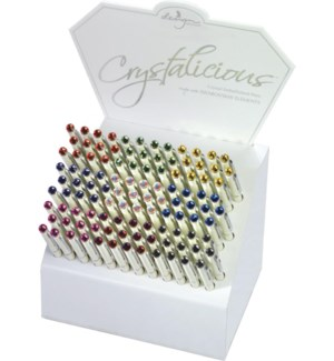DISP/Crystalicious White pens