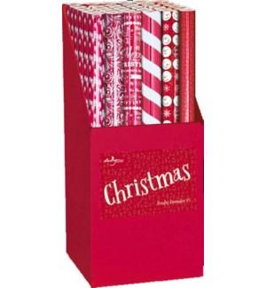 DISP/Floor Cardboard Gift Wrap