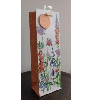 GIFTBAG/Floral - Bottle