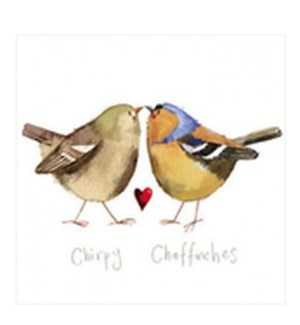 BL/Chirpy Chaffinches