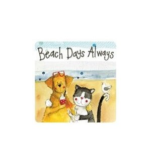COASTER/Beach Days Always