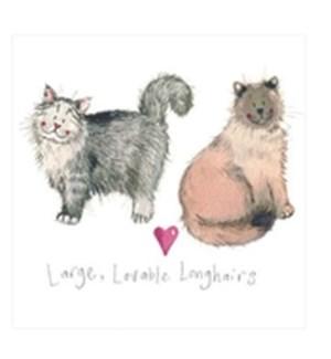EDB/Large, Lovable Longhairs