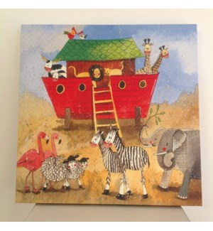 CANVAS/Red Noah's Ark LG