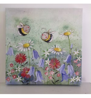 CANVAS/Bees & Flowers M