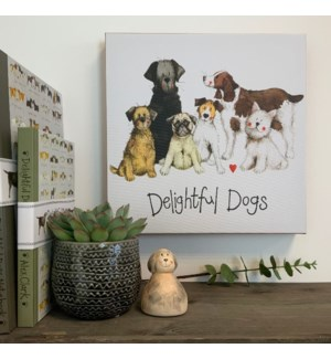 CANVAS/Delightful Dogs