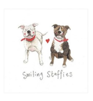 EDB/Smiling Staffies