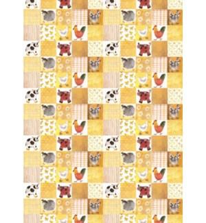 WRAP/Checkerboard Farmyard