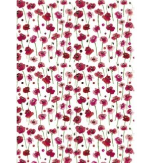 GIFTWRAP/POPPIES