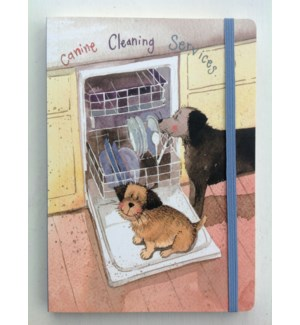 NOTEBOOK/Canine Cleaning LG