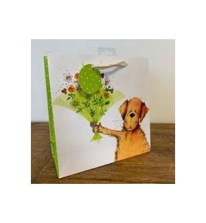 GIFTBAG/Green Bouquet