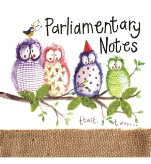 NOTEPAD/Owl Party (Mini)