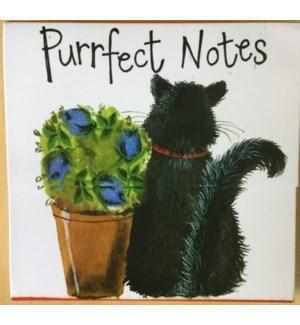 NOTEPAD/Puss And Pot (Mini)
