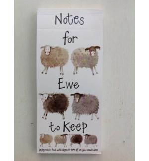 LISTPAD/Notes For Ewe