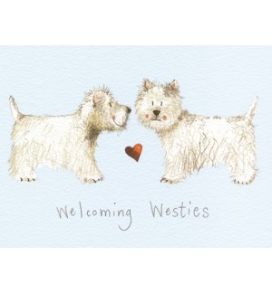 PLACEMAT/Welcoming Westies