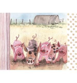 PLACEMAT/Five Little Pigs