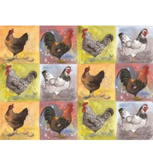 PLACEMAT/Chicken Collection