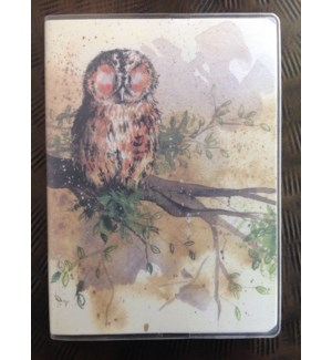 NOTEBOOK/Owl Plastic