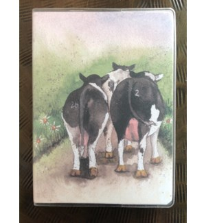 NOTEBOOK/Cows Plastic
