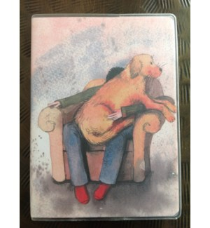 NOTEBOOK/Lap Dog Plastic