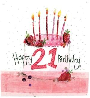 ABDB/21 Year Old Cake