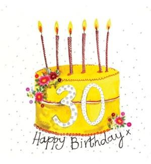 ABDB/30 Year Old Cake