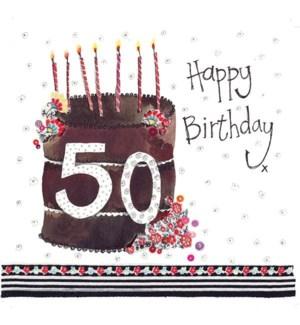 ABDB/50 Year Old Cake